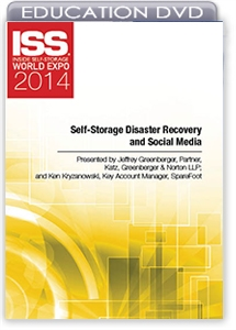 Picture of DVD - Self-Storage Disaster Recovery and Social Media