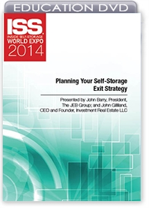 Picture of DVD - Planning Your Self-Storage Exit Strategy