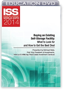 Picture of DVD - Buying an Existing Self-Storage Facility: What to Look for and How to Get the Best Deal
