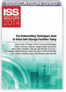 Picture of DVD - The Underwriting Techniques Used to Value Self-Storage Facilities Today