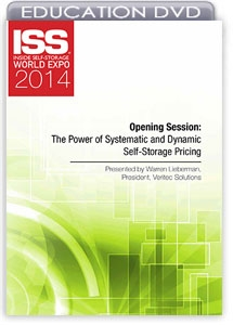 Picture of DVD - Opening Session: The Power of Systematic and Dynamic Self-Storage Pricing