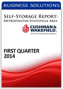 Picture of Self-Storage Metropolitan Statistical Area Report - First Quarter 2014