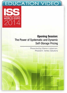 Picture of Opening Session: The Power of Systematic and Dynamic Self-Storage Pricing