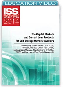 Picture of The Capital Markets and Current Loan Products for Self-Storage Owners/Investors