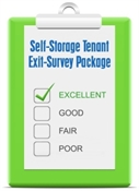Picture of Self-Storage Tenant Exit-Survey Package