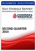 Picture of Self-Storage Metropolitan Statistical Area Report - Second Quarter 2014