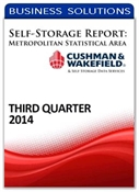 Picture of Self-Storage Metropolitan Statistical Area Report - Third Quarter 2014
