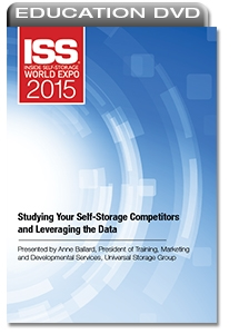 Picture of DVD - Studying Your Self-Storage Competitors and Leveraging the Data