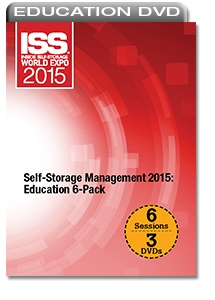 Picture of DVD - Self-Storage Management 2015: Education 6-Pack