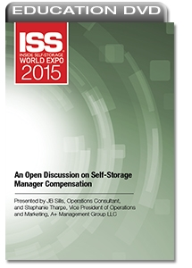 Picture of DVD - An Open Discussion on Self-Storage Manager Compensation