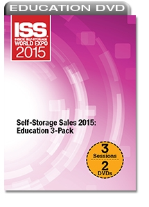 Picture of DVD - Self-Storage Sales 2015: Education 3-Pack