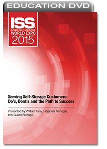 Picture of DVD - Serving Self-Storage Customers: Do's, Don'ts and the Path to Success