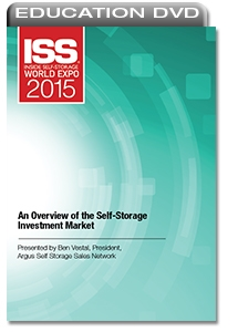 Picture of DVD - An Overview of the Self-Storage Investment Market