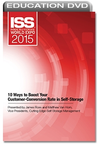 Picture of DVD - 10 Ways to Boost Your Customer-Conversion Rate in Self-Storage