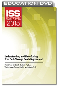 Picture of DVD - Understanding and Fine-Tuning Your Self-Storage Rental Agreement