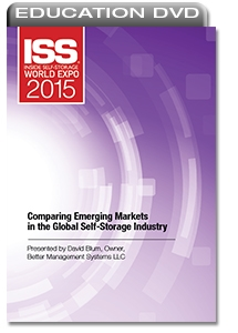 Picture of DVD - Comparing Emerging Markets in the Global Self-Storage Industry