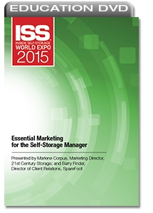 Picture of DVD - Essential Marketing for the Self-Storage Manager