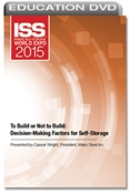 Picture of DVD - To Build or Not to Build: Decision-Making Factors for Self-Storage