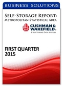 Picture of Self-Storage Metropolitan Statistical Area Report - First Quarter 2015