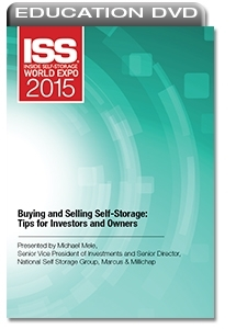 Picture of DVD - Buying and Selling Self-Storage: Tips for Investors and Owners