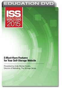 Picture of DVD - 5 Must-Have Features for Your Self-Storage Website