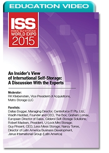 Picture of An Insider's View of International Self-Storage: A Discussion With the Experts