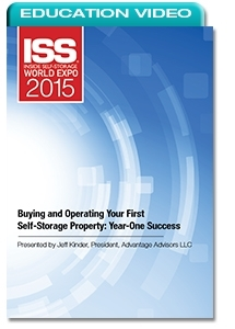 Picture of Buying and Operating Your First Self-Storage Property: Year-One Success