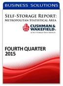 Picture of Self-Storage Metropolitan Statistical Area Report - Fourth Quarter 2015