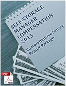 Picture of Self-Storage Manager Compensation 2015: Comprehensive Survey Report Package