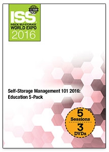 Picture of DVD - Self-Storage Management 101 2016: Education 5-Pack