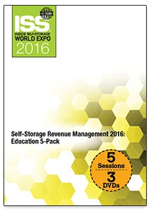 Picture of DVD - Self-Storage Revenue Management 2016: Education 5-Pack