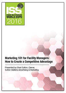 Picture of DVD - Marketing 101 for Facility Managers: How to Create a Competitive Advantage