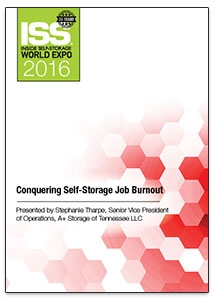 Picture of DVD - Conquering Self-Storage Job Burnout