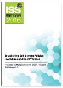 Picture of DVD - Establishing Self-Storage Policies, Procedures and Best Practices