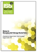 Picture of DVD - Money In: Managing Self-Storage Rental Rates