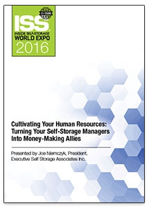 Picture of DVD - Cultivating Your Human Resources: Turning Your Self-Storage Managers Into Money-Making Allies