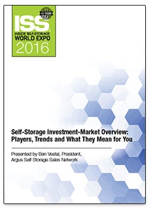 Picture of DVD - Self-Storage Investment-Market Overview: Players, Trends and What They Mean for You