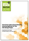 Picture of DVD - From Green Light to Ground-Breaking: Securing Approvals for Your Self-Storage Project