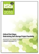 Picture of DVD - Critical First Steps: Determining Self-Storage Project Feasibility