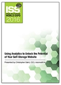 Picture of DVD - Using Analytics to Unlock the Potential of Your Self-Storage Website