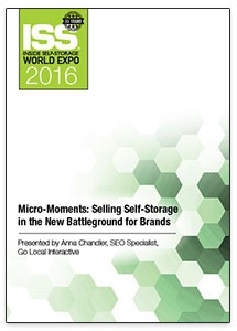 Picture of DVD - Micro-Moments: Selling Self-Storage in the New Battleground for Brands