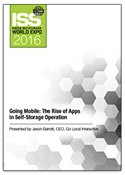 Picture of DVD - Going Mobile: The Rise of Apps in Self-Storage Operation