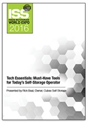 Picture of DVD - Tech Essentials: Must-Have Tools for Today's Self-Storage Operator