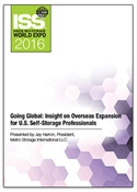 Picture of DVD - Going Global: Insight on Overseas Expansion for U.S. Self-Storage Professionals