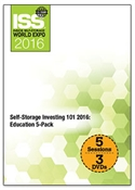 Picture of DVD - Self-Storage Investing 101 2016: Education 5-Pack