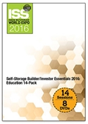 Picture of DVD - Self-Storage Builder/Investor Essentials 2016: Education 14-Pack