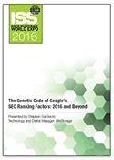 Picture of DVD - The Genetic Code of Google's SEO Ranking Factors: 2016 and Beyond