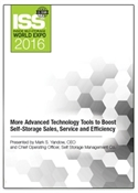 Picture of DVD - More Advanced Technology Tools to Boost Self-Storage Sales, Service and Efficiency