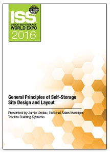 Picture of General Principles of Self-Storage Site Design and Layout
