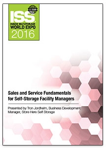 Picture of Sales and Service Fundamentals for Self-Storage Facility Managers
